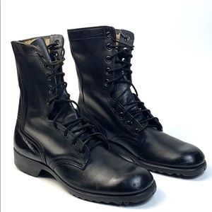RoSearch USA Military Grade Steel Toe Boots